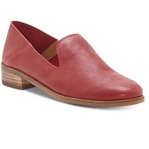 Lucky Brand flats in a gorgeous red leather. Nice!